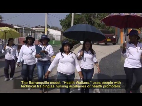 Health Walkers:  Community Work to Prevent Zika Barranquilla, Colombia February 2016