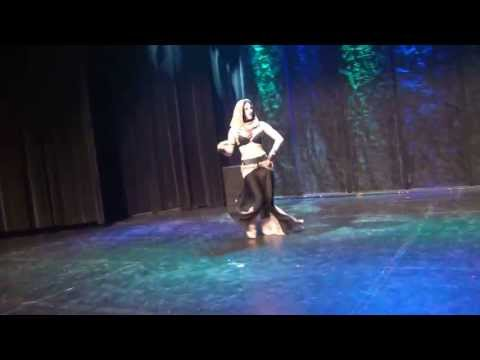 Tribal Fusion in Ottawa, Canada 2013. Performance by Olga Chin