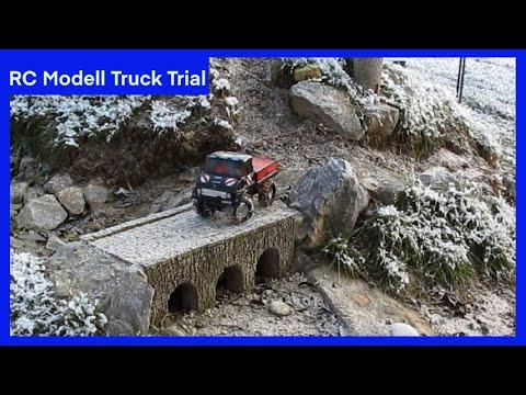 RC Modell Truck Trial - R/C Unimog U406 U 406 - RC Truck Trial mit Servonaut SMT Soundmodul - 4x4x2