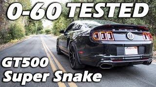 GT500 Super Snake 0-60 Results   DODGE DEMON KILLER
