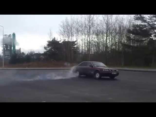 Audi 100 S4 2.2 Turbo Quattro - YouTube
