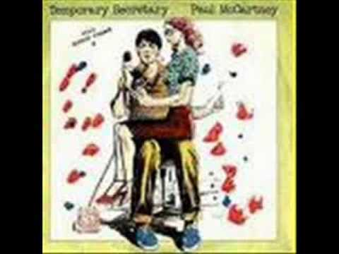 Paul McCartney - Temporary Secretary