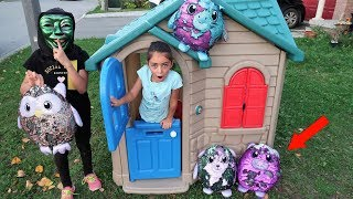 Game Master Mask Toys Delivery to Playhouse - Funny Videos for Kids