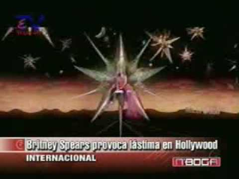 Britney Spears provoca lastima