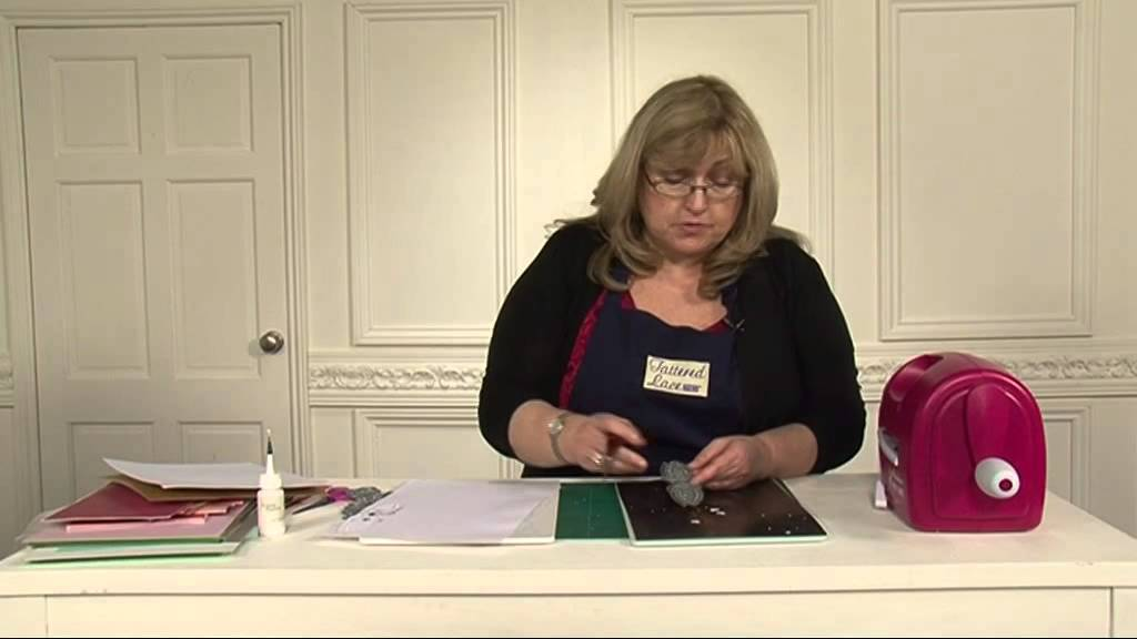 Tattered lace top tips with nancy watt youtube for Watch create and craft tv online
