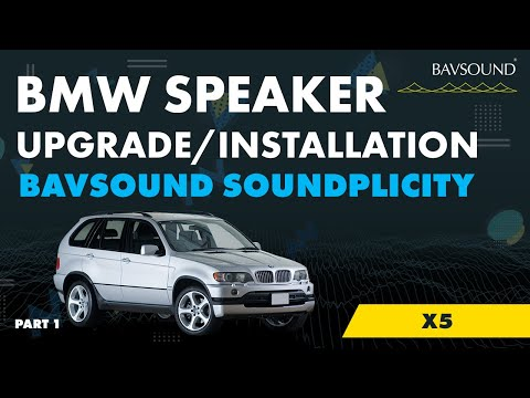 BMW X5 - Pt 1/4: Soundplicity iPod / iPhone / Android Kit Installation - CD Changer Removal and DSP