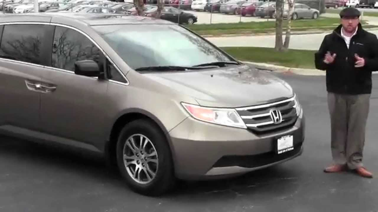 Certified used 2012 honda odyssey ex l for sale at honda for Certified used honda odyssey