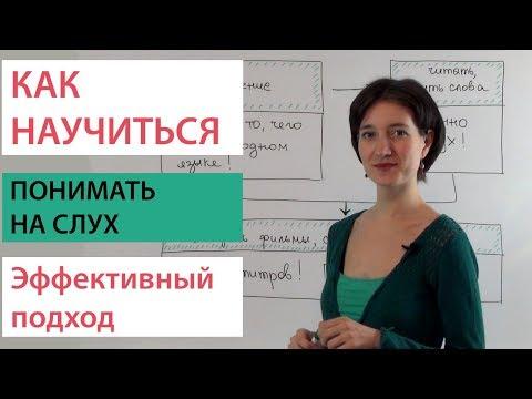 Как понимать носителей на слух. Английский ВидеоУрок