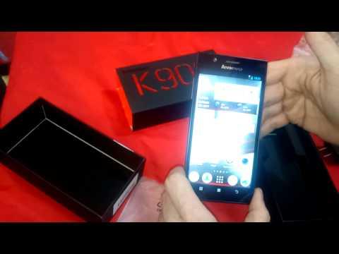 REVIEW LENOVO K900 ESPAÑOL