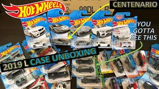 HOT WHEELS 2019 L CASE UNBOXING- WHAT!! YOU GOTTA SEE THIS!