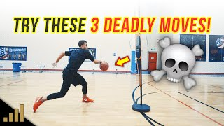 How to: 3 Simple Basketball Dribbling Moves That Are UNGUARDABLE!