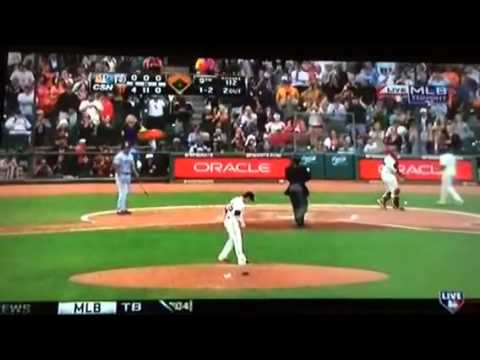 Tim Lincecum Throws His 2nd Second Career No Hitter vs Padres 6/25/2014
