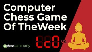 Computer Chess Game of the Week: Leela vs Nirvana