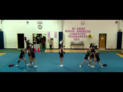 2010-2011 St Joseph school Athletics Cheering Video
