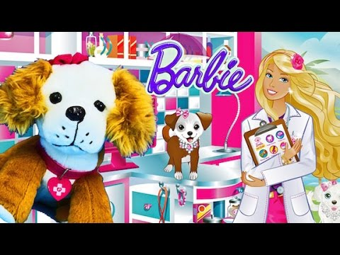 Barbie App-rific Pet Doctor - iPad app demo for kids
