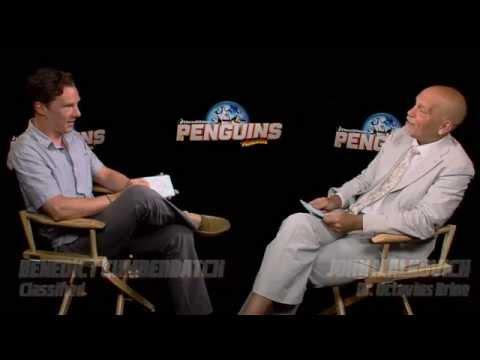 Penguins Of Madagascar: Benedict Cumberbatch & John Malkovich Breaking The Ice