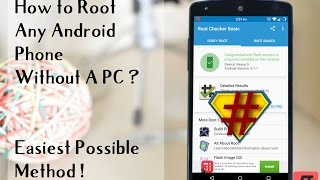 How to Root Any Android Phone Without PC ( VERY Easy One Click Method ) 2015
