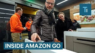 Inside The First Amazon Go Store