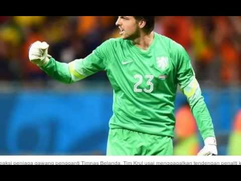 Tim Krul Saves Netherlands vs Costa Rica Penalty Shootout World Cup 2014 [5 July 2014] Review [HD]