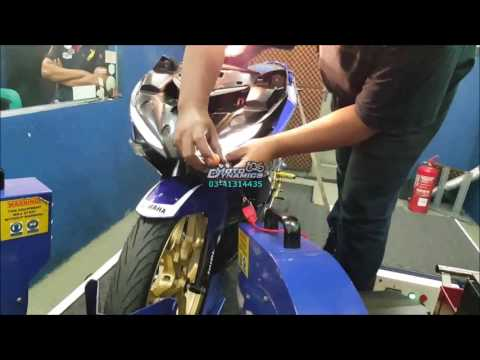 Yamaha Y15ZR aRacer ECU Dyno Tuning (Popping Fire) - Motodynamics Technology Malaysia