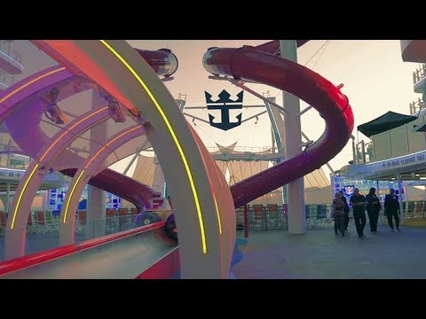 Finally!  Actual Video Of Symphony Of The Seas
