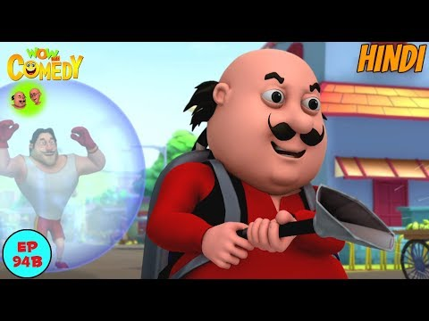 The Devil Toothpaste - Motu Patlu in Hindi - 3D Animated cartoon series for kids thumbnail