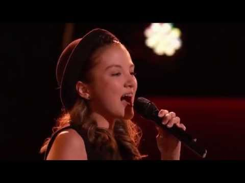 The Voice 2015 - Blind Audition - Siahna sings 'Im  Fever' by Peggy Lee