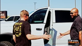 Lifted Trucks gave away five grand in off-road accessories to a lucky winner!