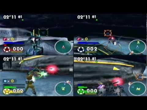 Let's Play Star Fox Assault (Bonus 3) Multiplayer at Fichina