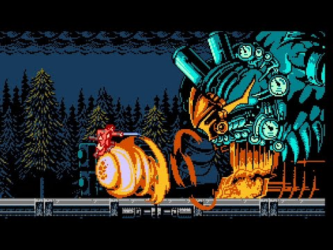 Bloodstained Curse of the Moon Trailer Channels 8-Bit Castlevania