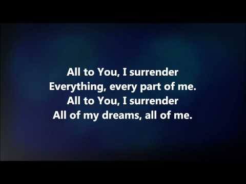 I Surrender - Jesus Culture W  Lyrics video