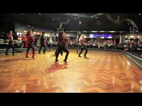 Fake Id - Line Dance Competition 2013 video