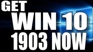 Upgrading to Windows 10 1903 - LIVE