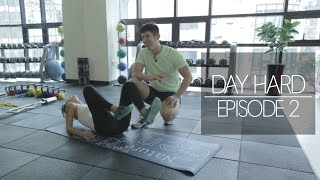 DAY HARD Ep2: Work out at MAD GYM | dahyeshka