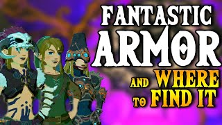 Fantastic Armor & Where to Find it - BOTW