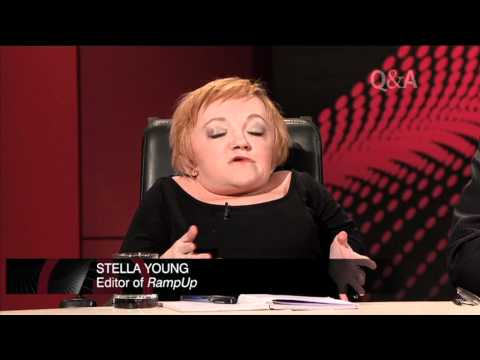 Stella Young ramps up the debate on disability