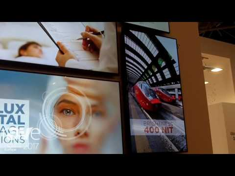 ISE 2017: Finlux Showcases Digital Signage ST and PD Series