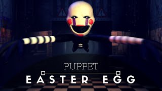 "How to catch ""The Puppet"" (or Marionette) on camera in Five Nights at Freddy"
