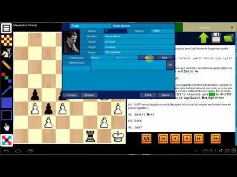 Mis clases de ajedrez por internet