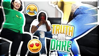EXTREME TRUTH OR DARE WITH INSTAGRAM TWIN MODELS!  SHE TWERKS FOR ME! 😍
