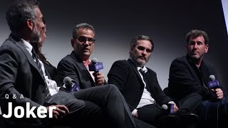 Joaquin Phoenix, Todd Phillips & Crew on Joker, Realism, and Reimagining Gotham City | NYFF57