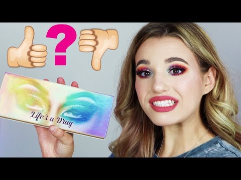 BRUTALLY HONEST MANNY MUA - LIFE'S A DRAG PALETTE REVIEW.