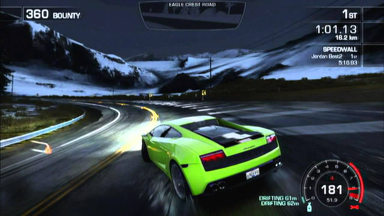 Need For Speed Most Wanted What i Want in Need For Speed