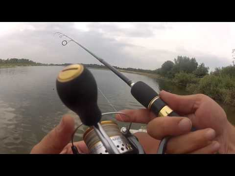 рыбалка видео ловля окуня на отводной поводок