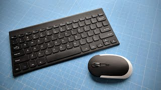 Jelly Comb Ultra Slim Wireless Keyboard & Mouse Combo | Unboxing & Review