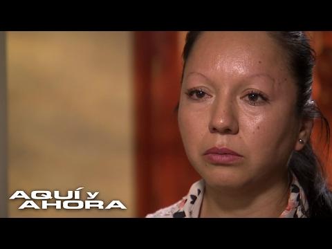 Sentimientos encontrados embargan a esta madre deportada a México, y separada de su esposo e hijos