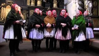 PRAHA-Nádherná píseň o Panně Marii zazněla od Tetek z Kyjova v gotickém chrámě Panny Marie Sněžné