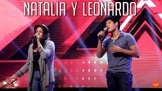 Natalia y Leonardo interpretan ''estoy enamorado'' | Audiciones | Factor X Bolivia 2018