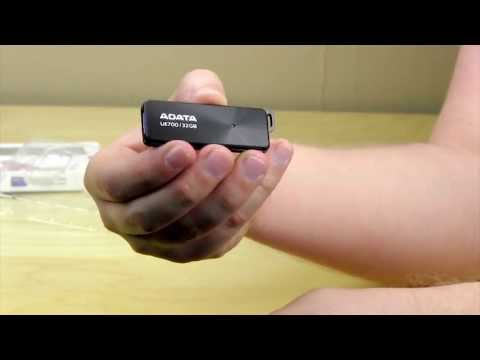 ADATA UE700 32GB USB 3.0 Flash Drive Unboxing & Overview