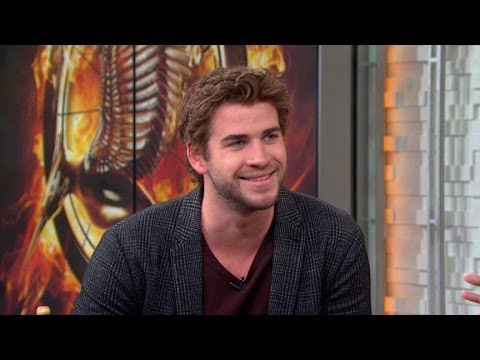 Liam Hemsworth Hunger Games Interview 2013: Hemsworth Heats Up Silver Screen in 'Catching Fire'